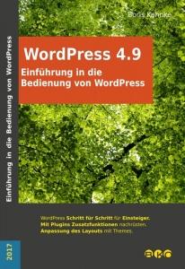 Einführung in die Bedienung von WordPress 4.9