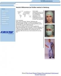 Farstar medical Webdesign