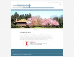 Tierfriedhof Nord Webdesign