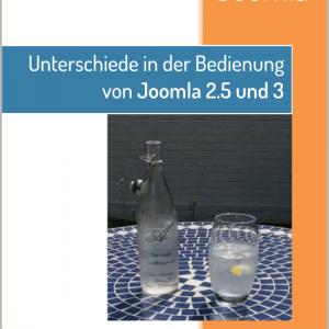 Unterschiede in der Bedienung von Joomla 2.5 und 3 Rev. 2