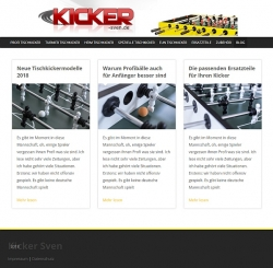 Kicker Sven Blog
