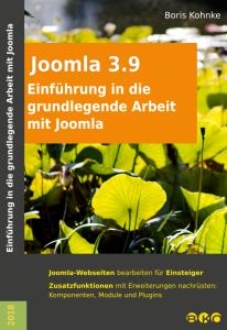Einführung in die grundlegende Arbeit mit Joomla 3.9 Cover