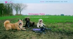 princess pets webdesign shop hosting