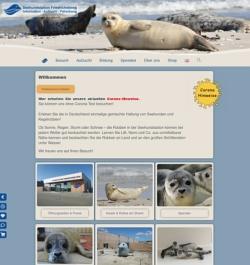 Seehundstation Friedrichskoog Webdesign Hosting