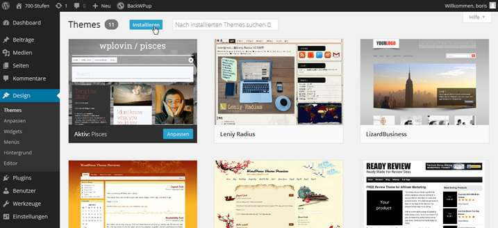 Wordpress - Themes